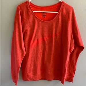 Nike Woman's Dri Fit Crew neck sweatshirt
